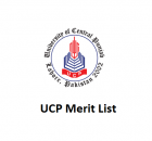 UCP Merit List University of central punjab