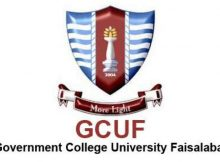 Government College University Faisalabad GCUF Admission
