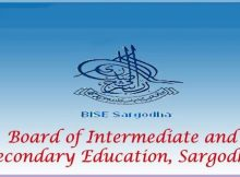 Download Sargodha Board Roll No Slips Online