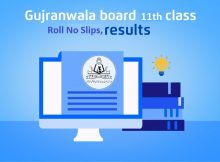 Gujranwala Board 11th Class Roll No Slips