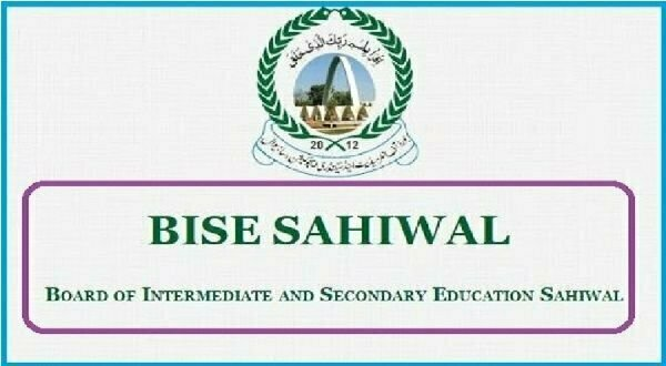 Bise sahiwal board inter fa, fsc 11th class rol no slips 2020 download online