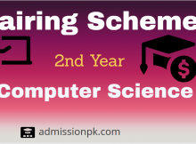12th class computer science pairing scheme