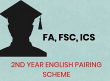 Intermediate 12th Class English Pairing Scheme Download