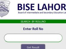 Bise Lahore Board 11th Class Roll No Slips fa, fsc, ics part 1